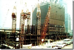 Bilder fra byggingen av World Trade Towers 19