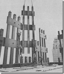 Bilder fra byggingen av World Trade Towers 27