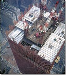 Bilder fra byggingen av World Trade Towers 28