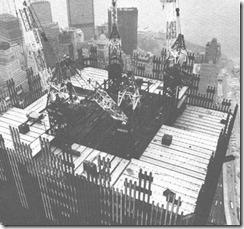 Bilder fra byggingen av World Trade Towers 29