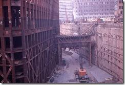 Bilder fra byggingen av World Trade Towers 2
