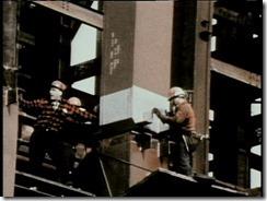 Bilder fra byggingen av World Trade Towers 35