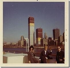 Bilder fra byggingen av World Trade Towers 36