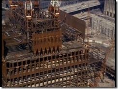 Bilder fra byggingen av World Trade Towers 40