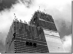 Bilder fra byggingen av World Trade Towers 41