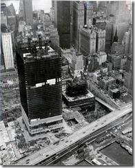 Bilder fra byggingen av World Trade Towers 43