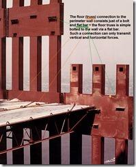 Bilder fra byggingen av World Trade Towers 44