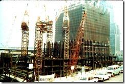 Bilder fra byggingen av World Trade Towers 47