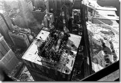 Bilder fra byggingen av World Trade Towers 49