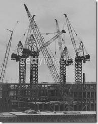Bilder fra byggingen av World Trade Towers 4