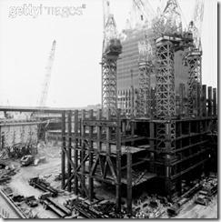 Bilder fra byggingen av World Trade Towers 5