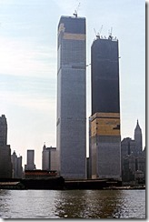 Bilder fra byggingen av World Trade Towers 6