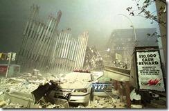 Bygningsrester World Trade Towers 11. september 2001 - 11