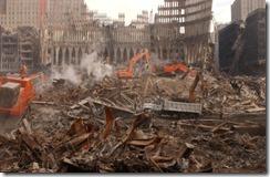 Bygningsrester World Trade Towers 11. september 2001 - 12