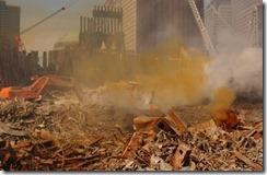 Bygningsrester World Trade Towers 11. september 2001 - 13