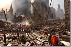Bygningsrester World Trade Towers 11. september 2001 - 14