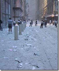 Bygningsrester World Trade Towers 11. september 2001 - 15