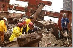 Bygningsrester World Trade Towers 11. september 2001 - 16