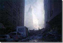 Bygningsrester World Trade Towers 11. september 2001 - 18