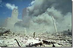 Bygningsrester World Trade Towers 11. september 2001 - 23