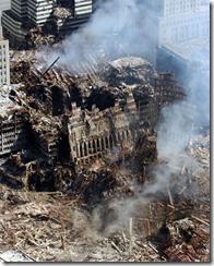 Bygningsrester World Trade Towers 11. september 2001 - 24