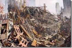 Bygningsrester World Trade Towers 11. september 2001 - 32