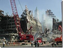 Bygningsrester World Trade Towers 11. september 2001 - 34