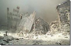 Bygningsrester World Trade Towers 11. september 2001 - 3