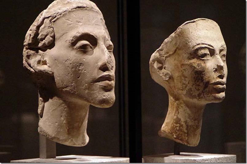 Akhenaten og Nefertiti