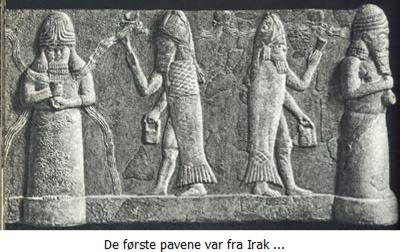 Fiskegudene fra Ur Babylon Irak