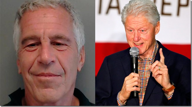 Jeffrey Epstein og Bill Clinton