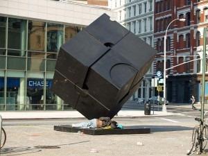 Manhattan-kuben i New York