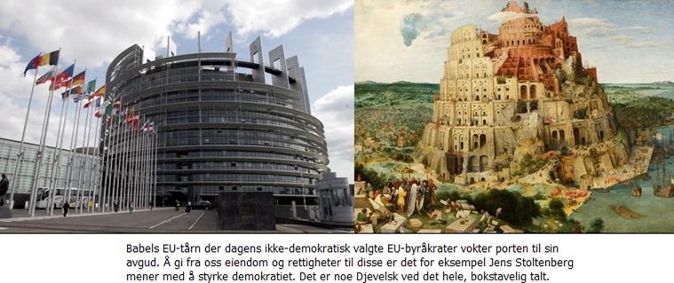 Babels EU-tårn en satans bygning
