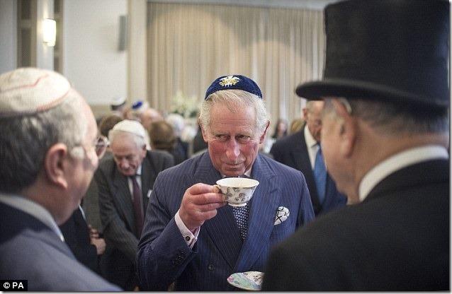 Prince Charles og forhudfabrikken