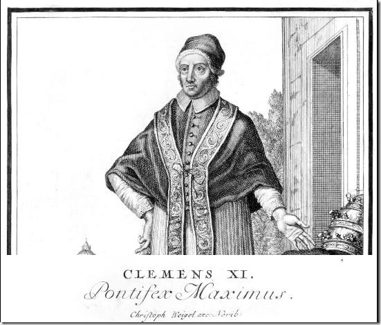 Clemens XI - Pontifex Maximus