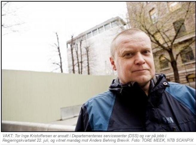 Tor-Inge Kristoffersen zoomet inn på bombebilen