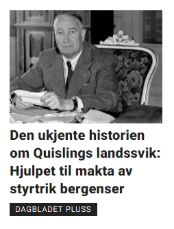 Den styrtrike kaffe-Bergenseren Albert Viljam Hagelin. Foto: Dagbladet http://www.dagbladet.no/nyheter/den-ukjente-historien-om-quislings-landssviknbsphjulpet-til-makta-av-styrtrik-bergenser/63943559