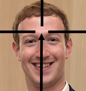 Kverk en Facebook-gründer. Fotokilde, minus de innlimte siktemidlene: Wikipedia