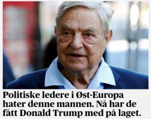Selv De presstituerte i Norge har fått med seg at denne østjøden (khazaren) har stått bak diverse opprør og kupp. Kilde: Sakset fra forsiden av dagens Aftenposten.