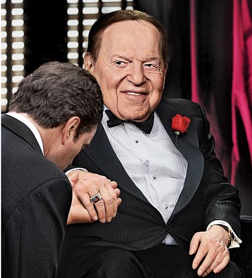 Sheldon Adelson ønsker å fjerne Palestina fra verdenskartet, og har ytret intense ønsker om å gjøre det samme med Iran ved hjelp av atomvåpen.