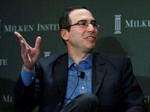 Steven Mnuchin er en styrtrik Goldman-Sachs-jøde.