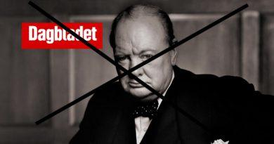 Neida, Dagbladet, det var ikke Winstons ord