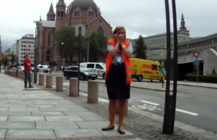 Den mørke Mercedesen Oslo terror 22. juli 2011 Regjeringskvartalet
