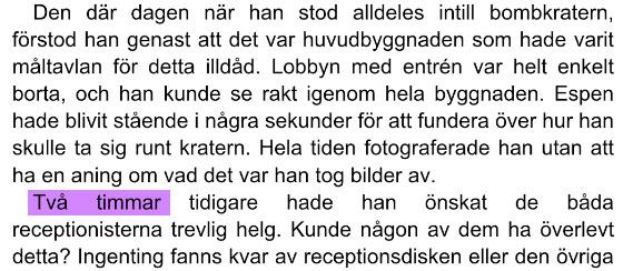 Espen Naumann to timer før 22. juli 2011 terror Grubbegata Regjeringskvartalet