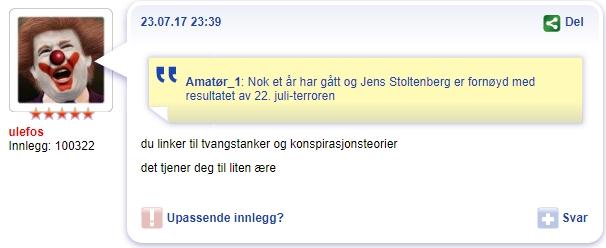 VG-sensur 22. juli 2011 VGD Jens Stoltenberg 2