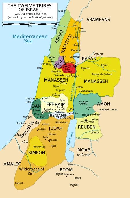 De tolv stammene i Israel