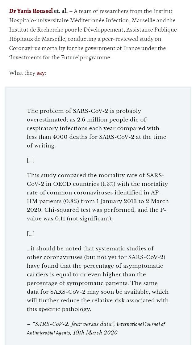 Dr. Yanis Roussel med flere om coronaviruset