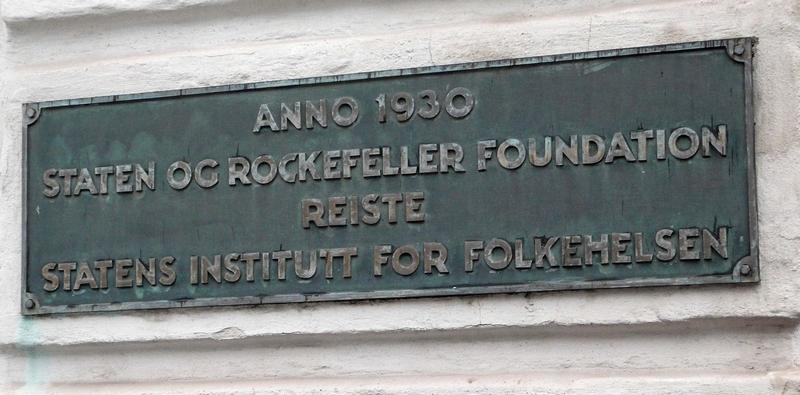 Rockefeller folkehelseinstituttet Stoltenberg Harlem Harlem Brundtland